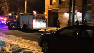 preview picture of video 'PATERSON FIRE DEPARTMENT RESPONDING TO & ON SCENE OF A REPORTED SMOKE CONDITION IN PATTERSON, NJ.'