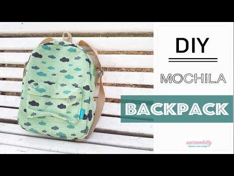 DIY MOCHILA VUELTA AL COLE | BACKPACK | PATRONES GRATIS