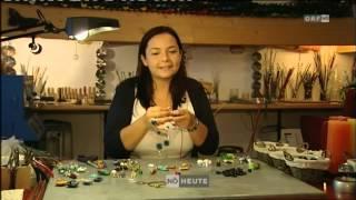 Grenzenlos Kreativ - handgefertigte Glasperlen auf ORF