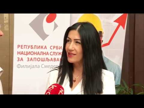 SAJAM ZAPOŠLJAVANJA   -  Smederevo -  06 11 2019