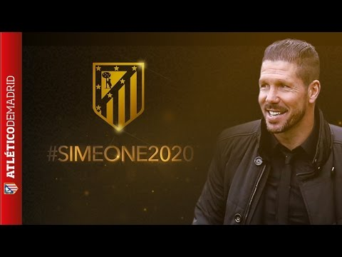 #SIMEONE2020.  ¡Ya es oficial la renovación de @Simeone! | The renewal of @Simeone is official!