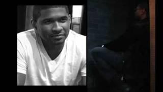 UPTOWN Magazine's Usher behind-the-scenes photo shoot