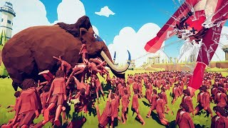 TABS - How Many Halflings Do You Need To Take Down A Mammoth?  - Totally Accurate Battle Simulator