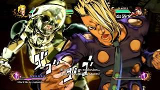 JoJo's All Star Battle: Pannacotta Fugo Move Set - HD