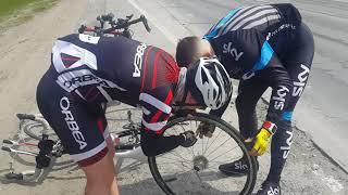 Первые 100 км на велосипеде, тренировки к алтай3рейс.