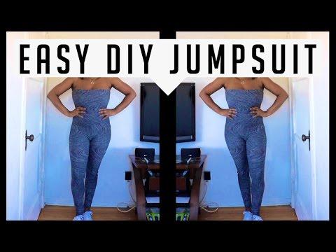 How To   DIY - EASY Jumpsuit Tutorial