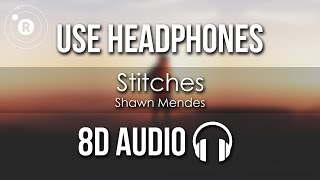 Shawn Mendes   Stitches (8D AUDIO)
