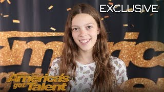 Courtney Hadwin Thanks Howie Mandel For Believing In Her - America's Got Talent 2018 | Kholo.pk