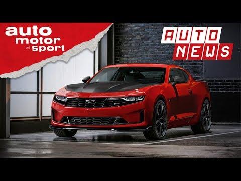 Chevrolet Camaro (2018): Facelift für das Pony-Car - NEWS | auto motor und sport