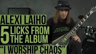 "Children Of Bodom's ""I Worship Chaos"" - Alexi Laiho's Five Favorite Licks"