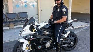 Long Beach Police Motor Patrol BMW S1000RR Show Bike ~ Donated By Long Beach BMW