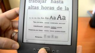 Review Kindle 4 Amazon en Castellano