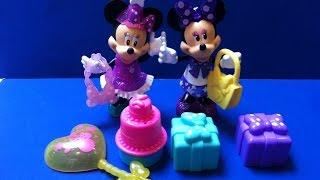 Bộ Đồ Chơi Sinh Nhật Chuột Minnie Mới Của Fisher-Price(Bí Đỏ) Minnie's Birthday Surprise