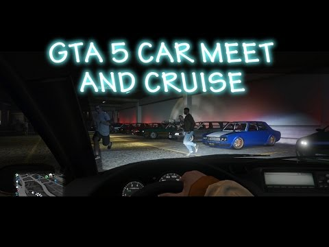 Gta 5 Online Car Meet And Cruise #25