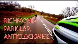 preview picture of video 'Anti-clockwise Lap of Richmond Park | Road Cycling Blog'