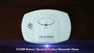 CO400 Battery Operated Basic CO Alarm