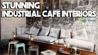[Daily Decor] 17 Stunning Industrial Cafe Interiors
