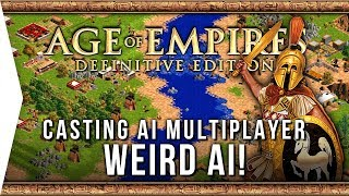Age of Empires: Definitive Edition ► Weird AI Quirks & Casting AI-Only Gameplay!