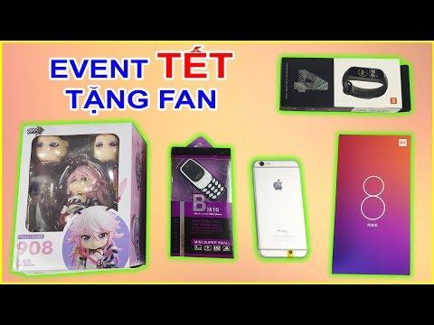 give away event tet tang fan dien thoai xiaomi mi 8 lite iphone 6 mi band 4