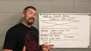 Weeks 6 and 7 - Your two hardest weeks so far - Thrower Preseason Training