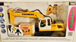 Jamara RC Liebherr R936 Bagger - Test & Unboxing