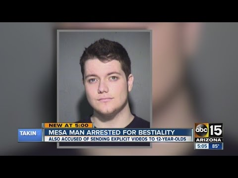 Mesa man arrested for bestiality(獣姦)