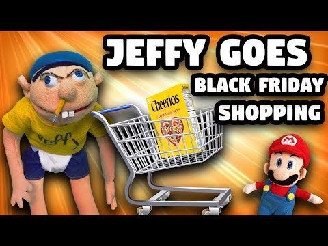 SML Parody: Jeffy Goes Black Friday Shopping!