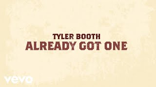 Tyler Booth Already Got One