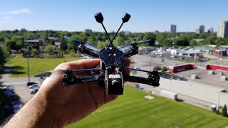 Sub 250 DJI HD FPV with 4 inches props