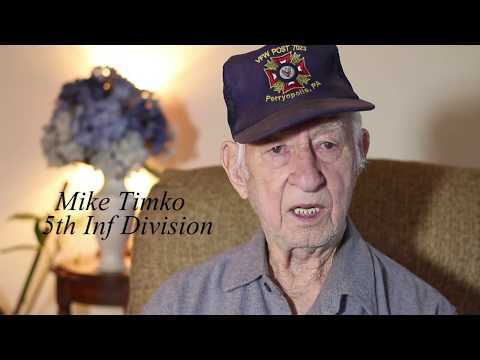 American WWII Veteran tells a story about how a German Medic saved his life