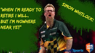 "Simon Whitlock: ""When I'm ready to retire I will, but I'm nowhere near yet"""