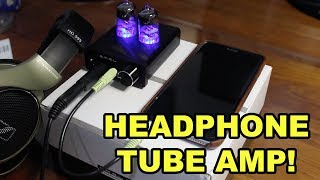 SMSL T2 Vacuum Tube Headphone Amplifier Review
