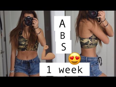 INTENSE ab workout (FLAT tummy in 1 WEEK!)