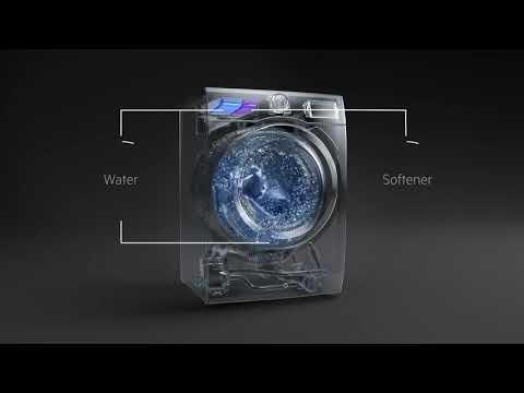 AEG Freestanding Washing Machine L6FBJ741N - White Video 1