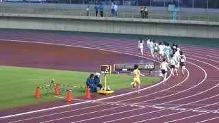 2018岡山県陸上競技記録会11500m8組