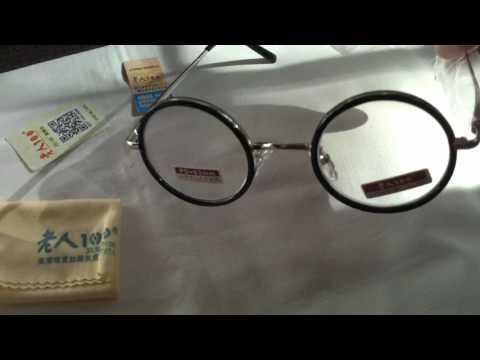 Retro rotondo ingrandimento leggero occhiali da lettura fatica ad alleviare forza 1.5 2.0 2.5 3.0