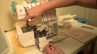 How to use a Singer Professional 5 Serger