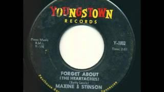 Maxine & Stinson - Forget About (The Heartaches) Youngstown Records Y-1002