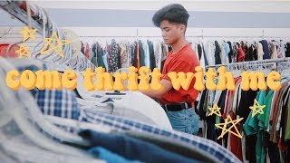 Come Thrift With Me   VINTAGE STYLE + Try On   Great Finds! 2018