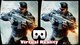 3D Crysis 2 - VR Virtual Reality Vídeo Google Cardboard VR Box