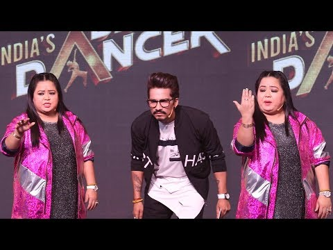 Bharti Singh NAILED IT! Back To Back FUNNY COMEDY PUNCHES At India's Best Dancer Show Launch