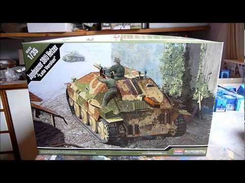 Academy Jagdpanzer 38(t) Hetzer in 1/35 scale Part I