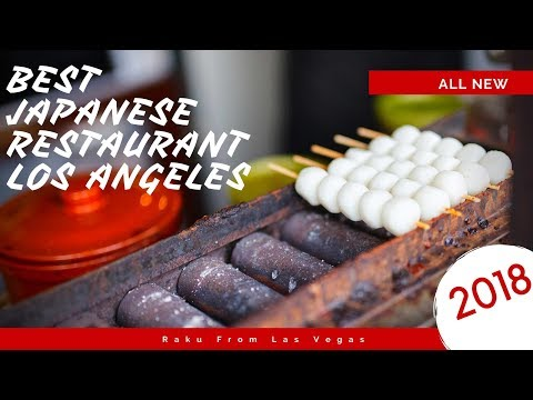BEST Japanese Charcoal Grill RESTAURANT IN LOS ANGELES - Aburiya Raku 2018