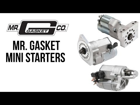 Mr. Gasket Mini Starters