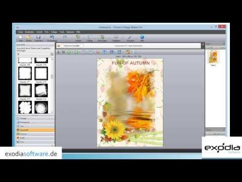 Software: Collagen erstellen, Kalender Grußkarten Fotobücher - Picture Collage Maker Pro Download