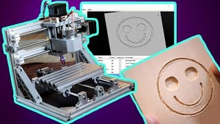 CNC 3 Axis Engraver Machine - Complete Assembly and First Print!