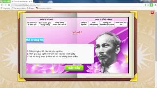 Hướng dẫn đăng ký tham gia cuộc thi Tuổi trẻ học và làm theo tấm gương đạo đức Hồ Chí Minh