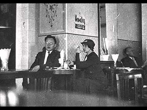 Polish/German tango: Tadeusz Faliszewski - W maleńkiej cichej tej kawiarence, 1930