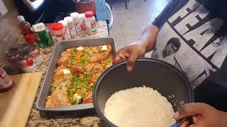 Lazy man's chicken and rice quick, easy and budget-friendly