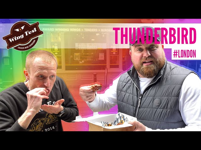 Wing Fest x Food Review Club - Wing Tour - Thunderbird